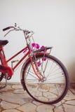 Bicicleta velha clássica decorada Foto de Stock