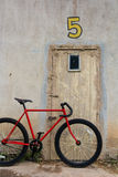 Bicicleta vermelha Foto de Stock