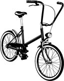 Bicicleta Vetor do ícone da bicicleta Fotos de Stock Royalty Free