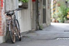 Bicicleta vieja Foto de archivo