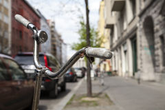 Bicicleta vieja Fotos de archivo libres de regalías