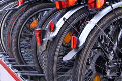 Bicicletas Fotos de archivo libres de regalías