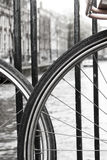 Bicicletas 2 do canal Imagem de Stock