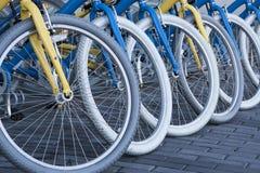 Bicicletas Imagen de archivo libre de regalías