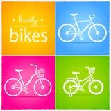 Bicicletas Fotografia de Stock Royalty Free