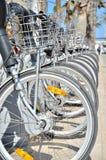 Bicicletas Imágenes de archivo libres de regalías