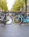 Bicicletas agradáveis Imagem de Stock Royalty Free