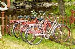 Bicicletas alugado Fotos de Stock Royalty Free