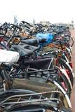 Bicicletas Amsterdão Foto de Stock