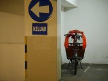 Bicicletas da carga Fotografia de Stock