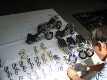 Bicicletas da sucata Foto de Stock Royalty Free
