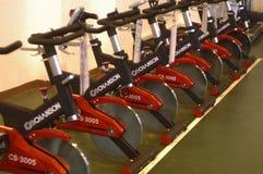 Bicicletas de exercício Foto de Stock Royalty Free