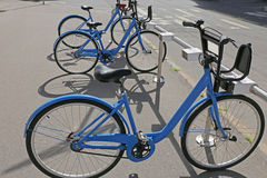 Bicicletas de la ciudad Imagenes de archivo