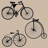 Bicicletas de la vendimia Foto de archivo libre de regalías