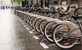 Bicicletas de Paris Imagens de Stock
