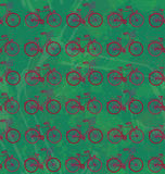 Bicicletas de Seamles Foto de Stock