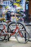 Bicicletas en Camden London fotografía de archivo libre de regalías
