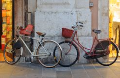Bicicletas - Ferrara Foto de archivo libre de regalías