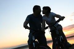 Bicicletas fora Imagens de Stock Royalty Free