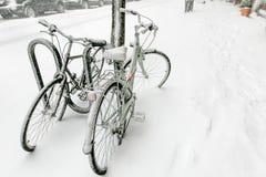 Bicicletas Nevado Imagen de archivo