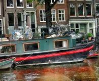 Bicicletas no barco Fotografia de Stock