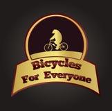 Bicicletas para todo el mundo Imagen de archivo