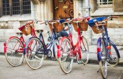 Bicicletas retros das bicicletas Foto de Stock Royalty Free