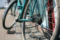 Bicicletas, vintage Fotografia de Stock