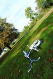 Bicicletta abbandonata Fotografia Stock Libera da Diritti