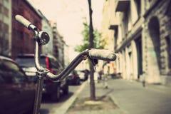 Bicicletta a Berlino Fotografia Stock