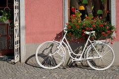 Bicicletta davanti ad un'entrata Fotografia Stock Libera da Diritti