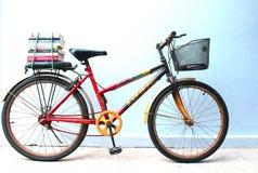Bicicletta del libro Fotografia Stock