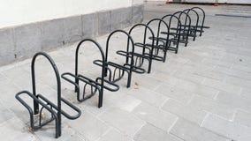 Bicicletta del sistema di parcheggio Immagini Stock