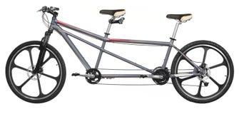 Bicicletta del tandem di Isoalted Fotografia Stock