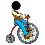 Bicicletta dell'annata Fotografia Stock Libera da Diritti
