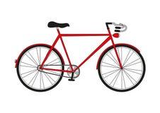 Bicicletta dell'illustrazione Fotografia Stock Libera da Diritti