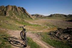 Bicicletta della montagna fotografia stock libera da diritti