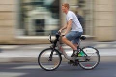 Bicicletta di Bixi Immagini Stock