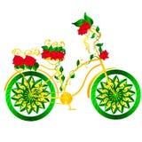 Bicicletta di fantasia Immagini Stock Libere da Diritti