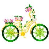Bicicletta di fantasia Immagine Stock