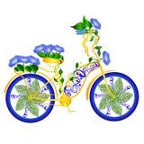 Bicicletta di fantasia Immagine Stock Libera da Diritti