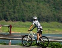 Bicicletta di giro Fotografie Stock Libere da Diritti