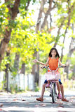Bicicletta di guida Immagini Stock Libere da Diritti