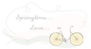 Bicicletta di vettore. Illustrazione Vettoriale