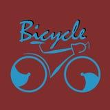 Bicicletta di vettore Fotografia Stock