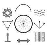 Bicicletta grafica piana royalty illustrazione gratis
