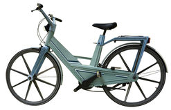 Bicicletta moderna di plastica Immagine Stock
