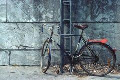 Bicicletta a Parigi Fotografie Stock Libere da Diritti