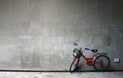 Bicicletta rossa Immagine Stock