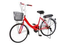 Bicicletta rossa Fotografie Stock Libere da Diritti